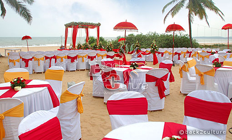 beach wedding in goa