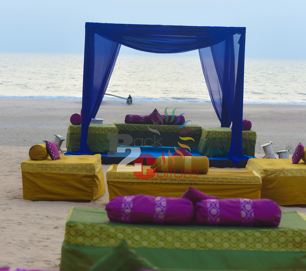 beach wedding planner in goa